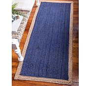 Link to 2' 6 x 6' Braided Jute Runner Rug