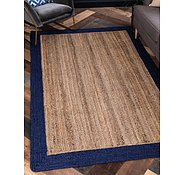 Link to Unique Loom 5' x 8' Braided Jute Rug