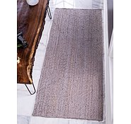 Link to Unique Loom 2' 6 x 6' Braided Jute Runner Rug