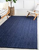 Unique Loom 2' x 3' Braided Jute Rug thumbnail image 1