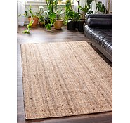 Link to 6' 3 x 9' 2 Braided Jute Rug