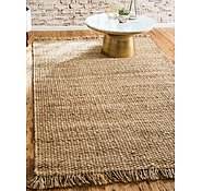 Link to Unique Loom 9' x 12' Chunky Jute Rug