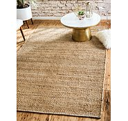 Link to Unique Loom 2' x 3' Chunky Jute Rug
