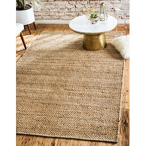 Unique Loom 2' x 3' Chunky Jute Rug