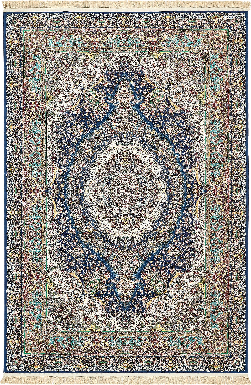 Dark Blue 8 2 X 11 6 Dynasty Rug Esalerugs