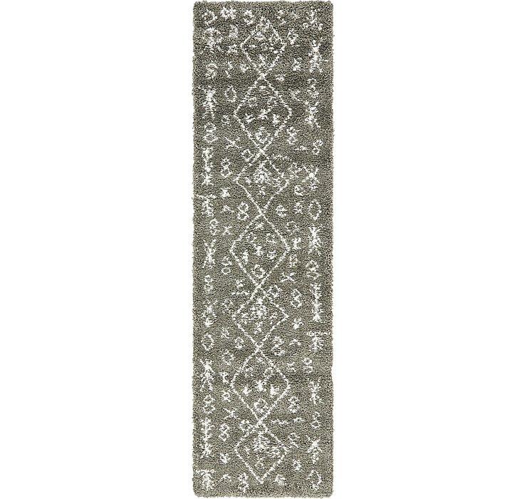 2' 7 x 10' Marrakesh Shag Runner Rug