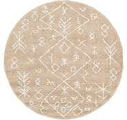 Link to 8' x 8' Marrakesh Shag Round Rug