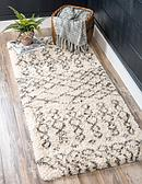 2' 7 x 6' Marrakesh Shag Runner Rug thumbnail image 1