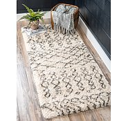 Link to 2' 7 x 6' Marrakesh Shag Runner Rug