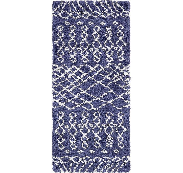 2' 7 x 6' Marrakesh Shag Runner Rug