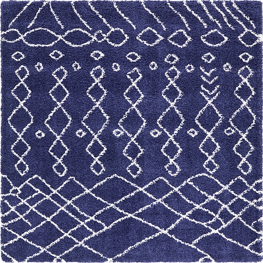 blue shag rug navy blue 8 x 8 marrakesh shag square rug area rugs 11071
