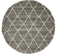 Link to 245cm x 245cm Marrakesh Shag Round Rug
