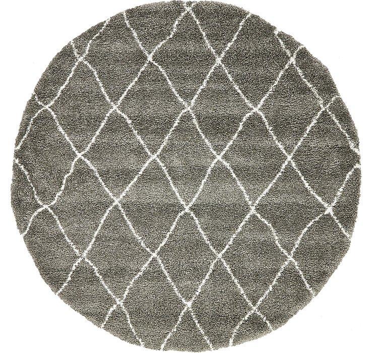 8' x 8' Marrakesh Shag Round Rug