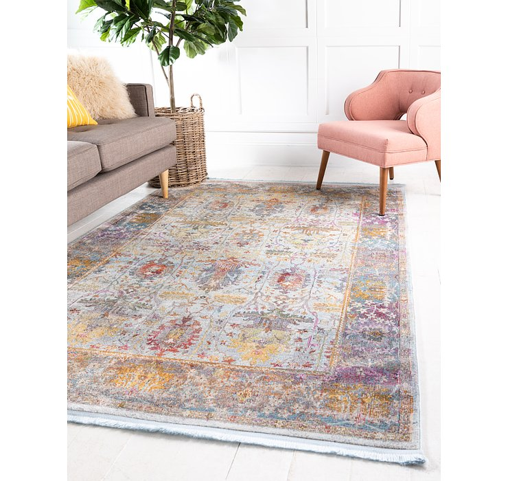 Light Blue Santiago Rug