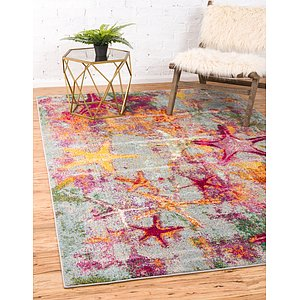 Unique Loom 5' x 8' Positano Rug