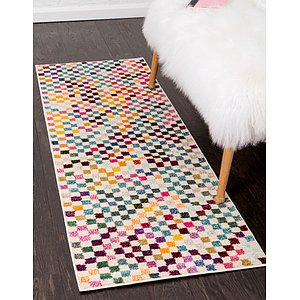 Unique Loom 2' 2 x 6' 7 Chromatic Runner Rug