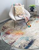 8' x 8' Spectrum Round Rug thumbnail image 1
