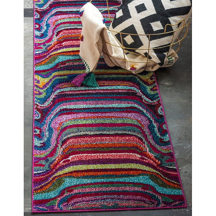 2' 2 x 6' 7 Chromatic Runner Rug