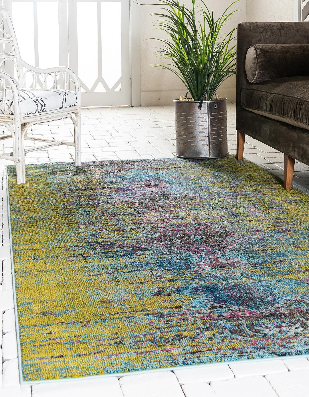 Green 10 6 X 16 5 Carnevale Rug Area Rugs Rugs Com