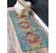 Link to Unique Loom 2' 7 x 10' Arte Runner Rug