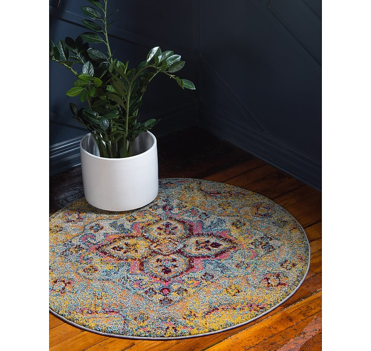 8' x 8' Carnevale Round Rug