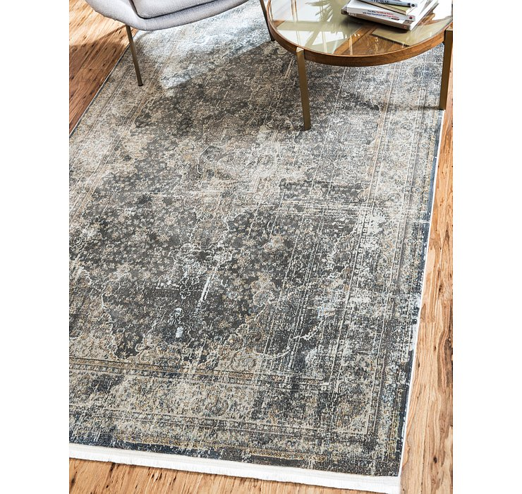 Dark Gray Santiago Rug