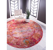 Link to Unique Loom 5' 5 x 5' 5 Baracoa Round Rug