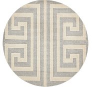 Link to 8' x 8' Greek Key Round Rug