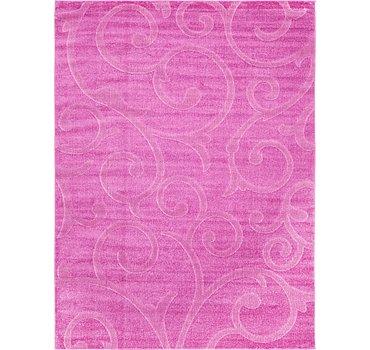 274x366 Floral Frieze Rug
