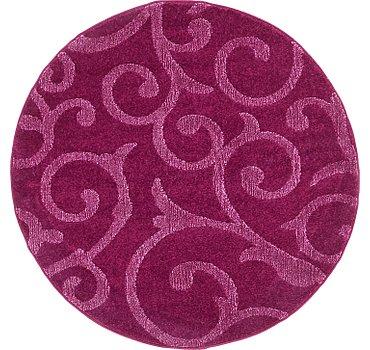 122x122 Floral Frieze Rug