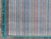 2' 6 x 19' 8 Solid Shag Runner Rug thumbnail image 16