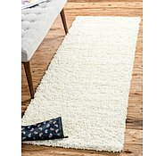 Link to 2' 2 x 6' Solid Shag Runner Rug