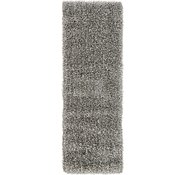 Link to 2' x 6' Luxe Solid Shag Runner Rug