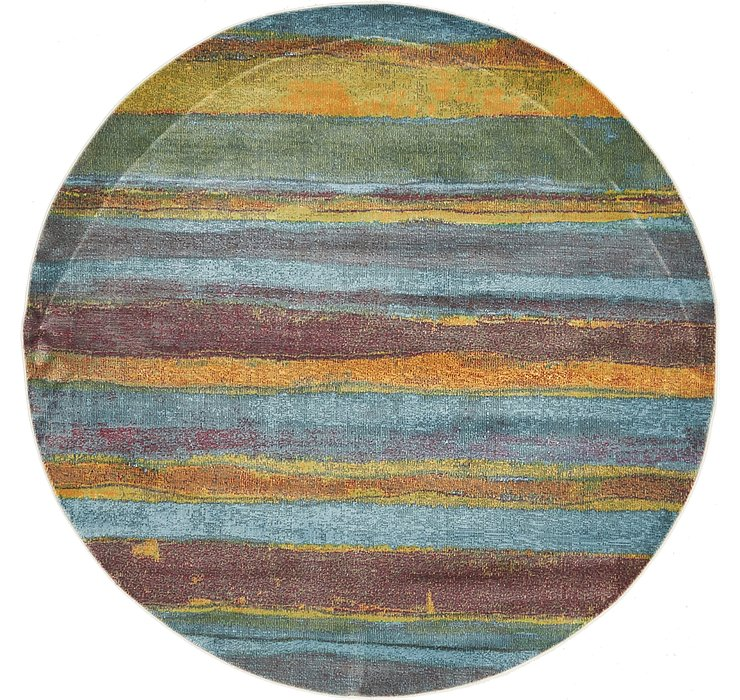 Multi Dakota Round Rug