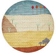 Link to 5' 5 x 5' 5 Tribe Round Rug