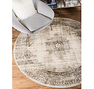 Link to Unique Loom 6' x 6' Cambridge Round Rug