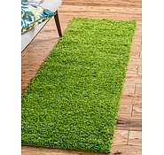 Link to 2' 2 x 6' 5 Solid Shag Runner Rug