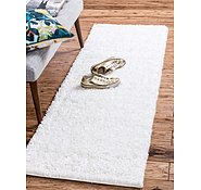 Link to 2' 6 x 19' 8 Solid Shag Runner Rug
