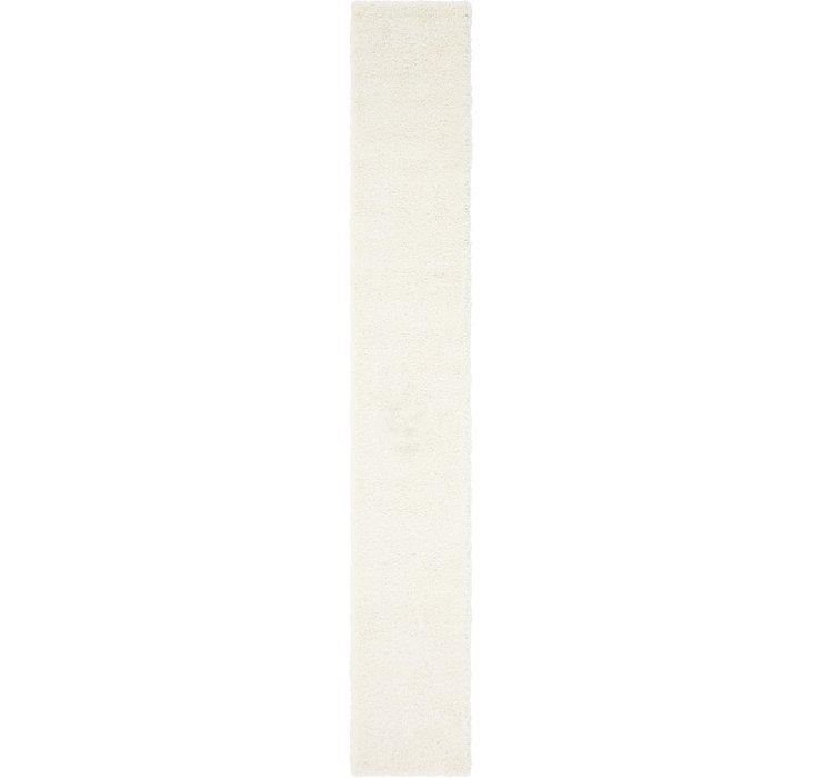2' 6 x 16' 5 Solid Shag Runner Rug
