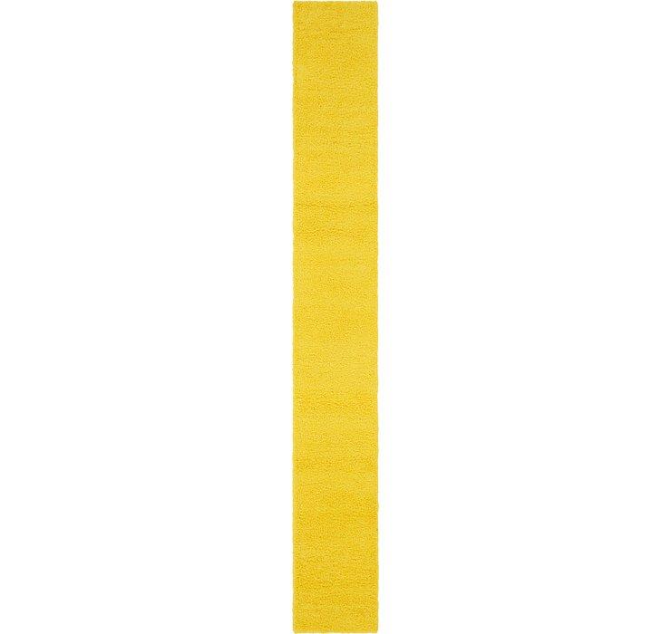 2' 6 x 19' 8 Solid Shag Runner Rug