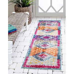 Unique Loom 2' x 6' 7 Vita Runner Rug