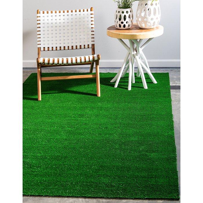 9' x 12' Outdoor Grass Rug