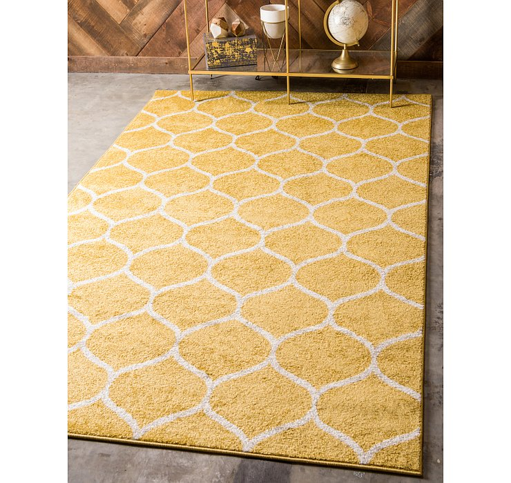 8' x 10' Trellis Frieze Rug