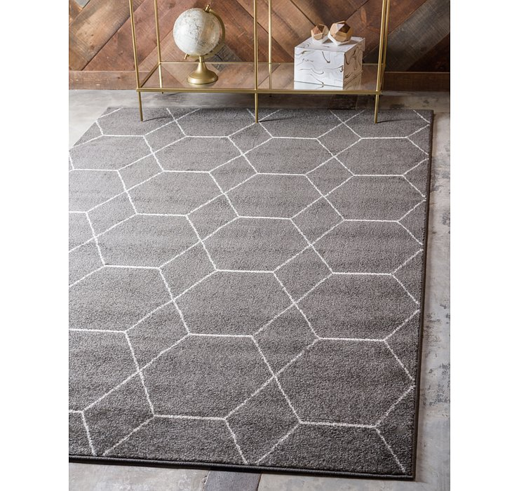 7' x 10' Trellis Frieze Rug