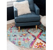 Link to 8' x 8' Santa Fe Round Rug