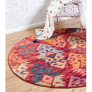Unique Loom 3' 3 x 3' 3 Sedona Round Rug