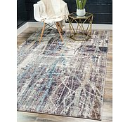 Link to Unique Loom 1' 8 x 1' 8 Downtown Collection by Jill Zarin Rug