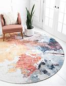 Jill Zarin 8' x 8' Downtown Collection Round Rug thumbnail image 1