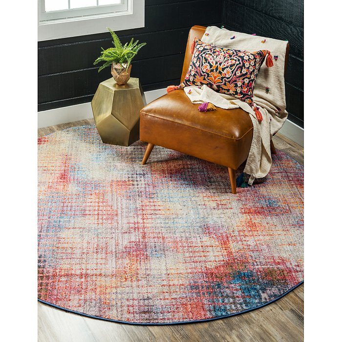 8' x 8' Downtown Collection Rou...