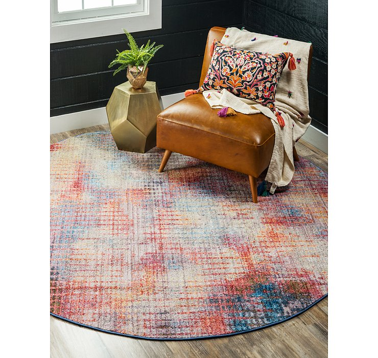 8' x 8' Downtown Round Rug